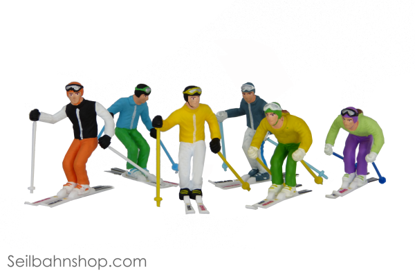 JC 54400 Figures with ski pole