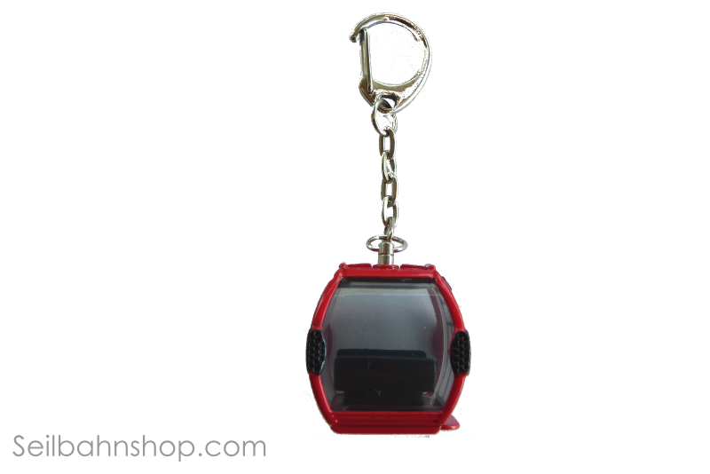 JC 80451 Keychain Omega IV, Metal Red